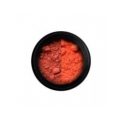 Poudre thermo - rouge/orange
