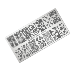 Stamping plate - Summer