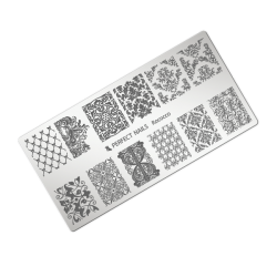 Stamping plate - Rococco