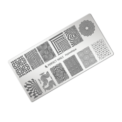 Stamping plate - hypnotique