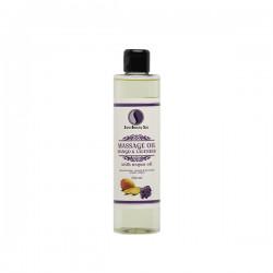 Massage Oil, Mango & Lavender - 250ml