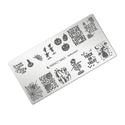 Stamping plate - Halloween
