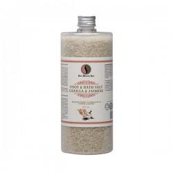 Foot & bath salt, Vanilla & Jasmine - 1320gr
