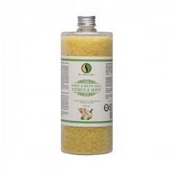 Foot & bath salt, Citrus & Mint - 1320gr
