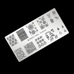 Stamping plate - Christmas